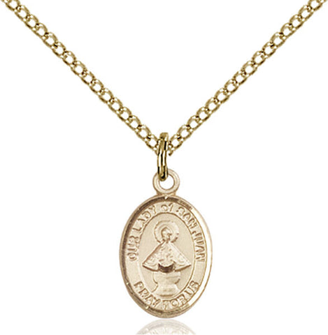 Our Lady of San Juan Medal - FN9263GF18GF