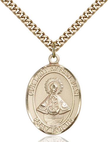 Our Lady of San Juan Medal - FN7263GF24G