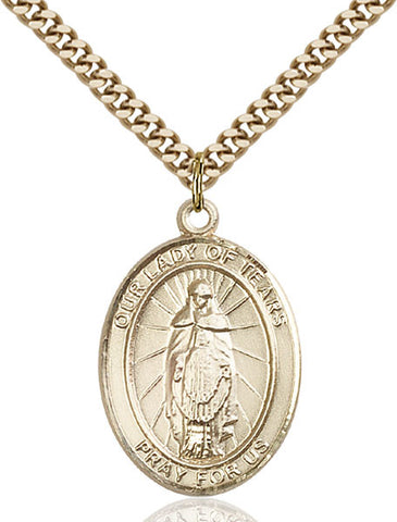 Our Lady of Tears Medal - FN7346GF24G