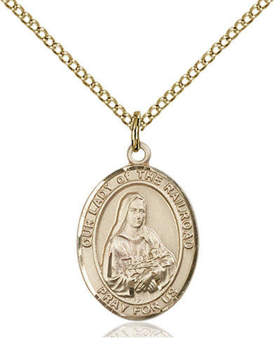 Our Lady of the Railroad Medal - FN8247GF18GF