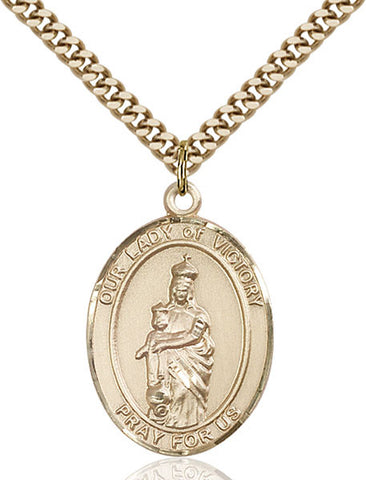 Our Lady of Victory Medal - FN7306GF24G
