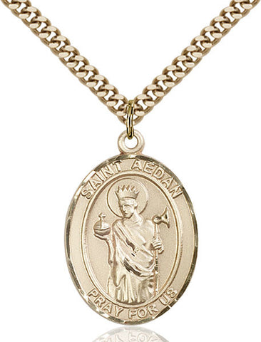 St. Aedan of Ferns Medal - FN7293GF24G