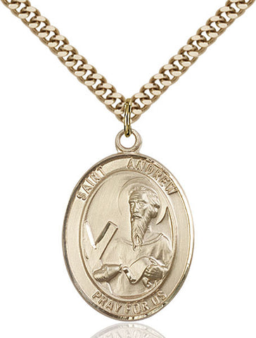 St. Andrew the Apostle Medal - FN7000GF24G