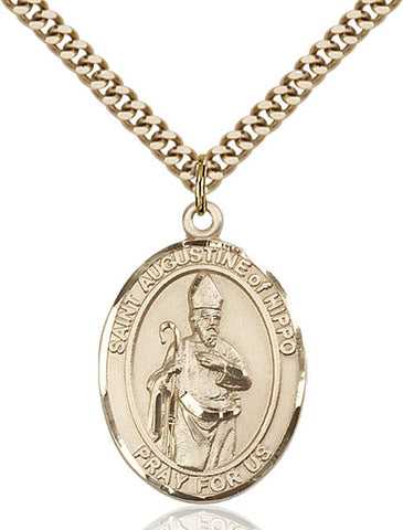 St. Augustine of Hippo Medal - FN7202GF24G