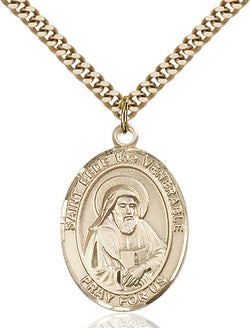 St. Bede the Venerable Medal - FN7302GF24G