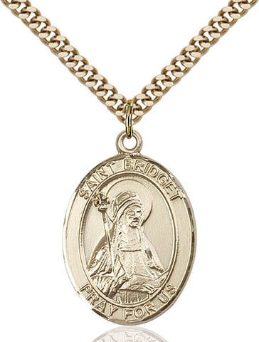 St. Bridget of Sweden Medal - FN7122GF24G