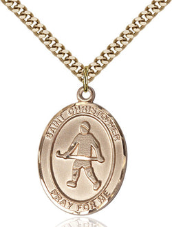 St. Christopher / Field Hockey Medal - FN7195GF24G