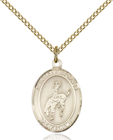 St. Christopher / Rodeo Medal - FN8192GF18GF