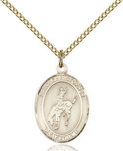 St. Christopher / Rugby Medal - FN9194GF18GF