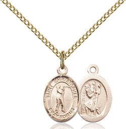 St. Christopher/Golf Medal - FN9152GF18GF