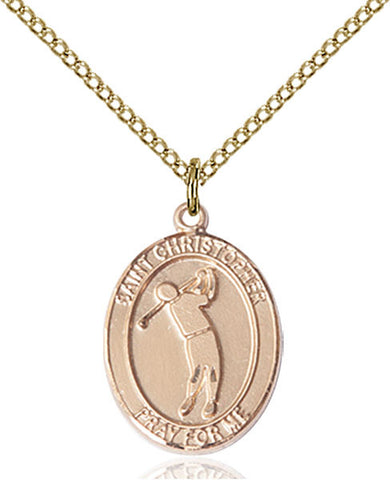 St. Christopher/Golf Medal - FN8152GF18GF