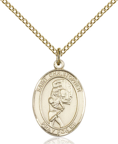 St. Christopher/Softball Medal - FN8507GF18GF