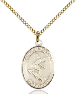 St. Christopher/Surfing Medal - FN8184GF18GF