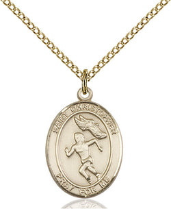 St. Christopher/Track&Field Medal - FN8510GF18GF