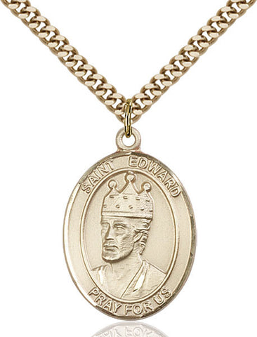 St. Edward the Confessor Medal - FN7026GF24G