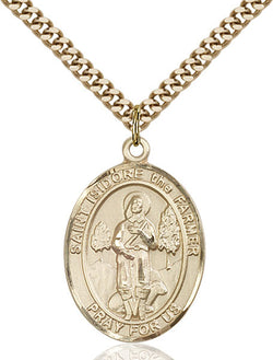 St. Isidore the Farmer Medal - FN7276GF24G