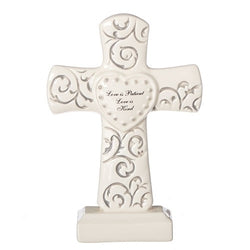 Mr. & Mrs. Scroll Cross - LI15778