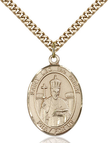 St. Leo the Great Medal - FN7120GF24G