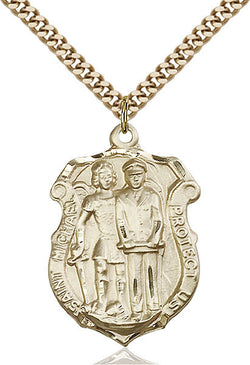 St. Michael the Archangel Medal - FN5694GF24G