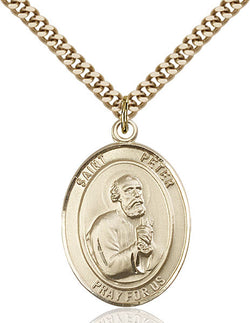 St. Peter the Apostle Medal - FN7090GF24G