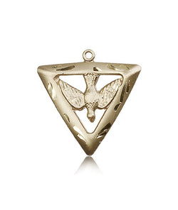 Holy Spirit / Triangle Medal - FN1630KT