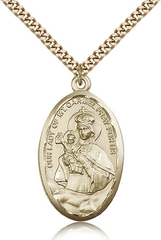 Our Lady of Mount Carmel Medal - FN1656GF24G