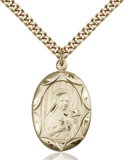 St. Theresa Medal - FN0801TGF24G