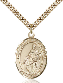 St. Thomas of Villanova Medal - FN7304GF24G
