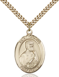 St. Thomas the Apostle Medal - FN7107GF24G