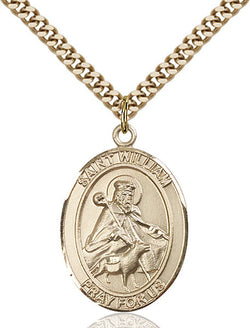 St. William of Rochester Medal - FN7114GF24G