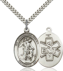 Guardian Angel / EMT Medal - FN7118SS1024S