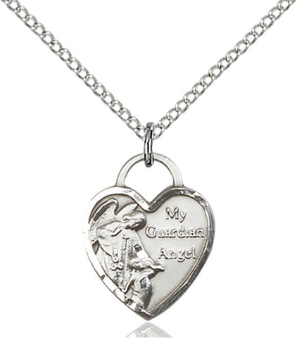 Guardian Angel Heart Medal - FN3402SS18SS