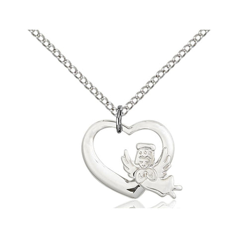 Heart / Guardian Angel Medal - FN4206SS18SS