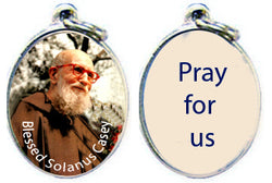 Blessed Solanus Casey Silver Tone Epoxy Metal-NP17343115