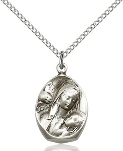 Madonna & Child Medal - FN3000SS18SS