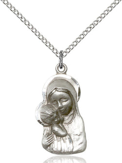 Madonna & Child Medal - FN1612SS18SS