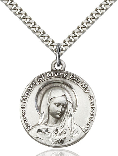Immaculate Heart of Mary Medal - FN5625SS24S