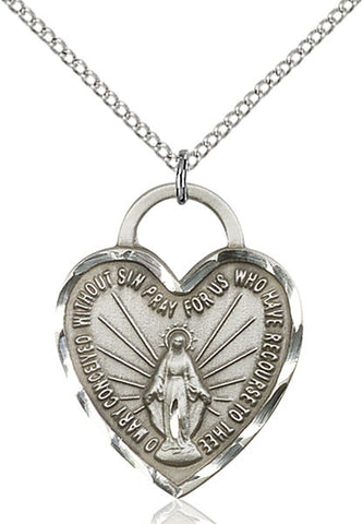 Miraculous Heart Medal - FN3301SS18SS