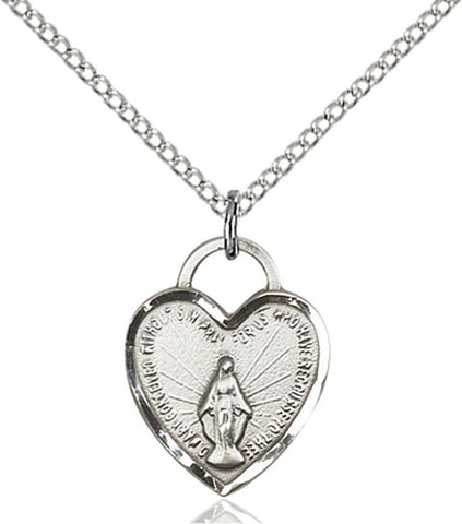 Miraculous Heart Medal - FN3401SS18SS