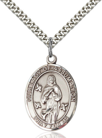 Our Lady Of Assumption Medal - FN7388SS24S