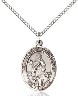 Our Lady Of Assumption Medal - FN8388SS18SS