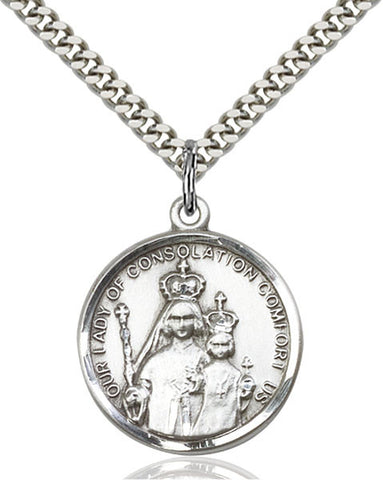 Our Lady of Consolation Medal - FN0038SS24S
