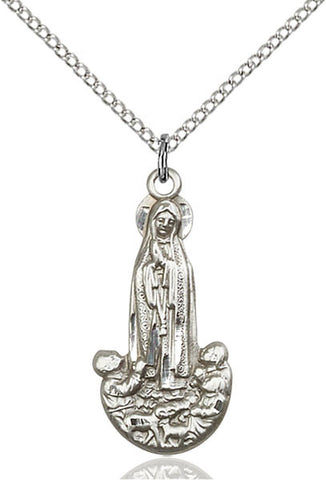 Our Lady of Fatima Medal - FN5931SS18SS