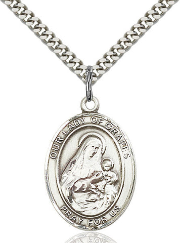 Our Lady of Grapes Medal - FN7347SS24S