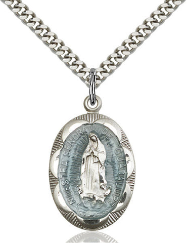 Our Lady of Guadalupe Medal - FN0801EFSS24S