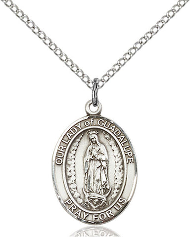 Our Lady of Guadalupe Medal - FN8206SS18SS