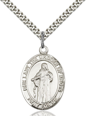 Our Lady Of Knots Medal - FN7383SS24S