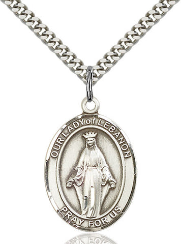 Our Lady of Lebanon Medal - FN7229SS24S