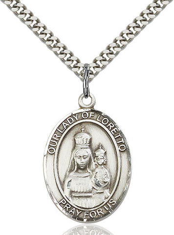 Our Lady of Loretto Medal - FN7082SS24S