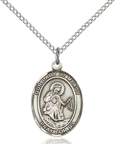 Our Lady of Mercy Medal - FN8289SS18SS